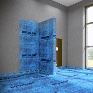 Hydroizolacja łazienki z zastosowaniem maty uszczelniającej BOTAMENT® AE