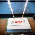Obchody 20-lecia produkcji VELUX wfabryce okien wGnieźnie