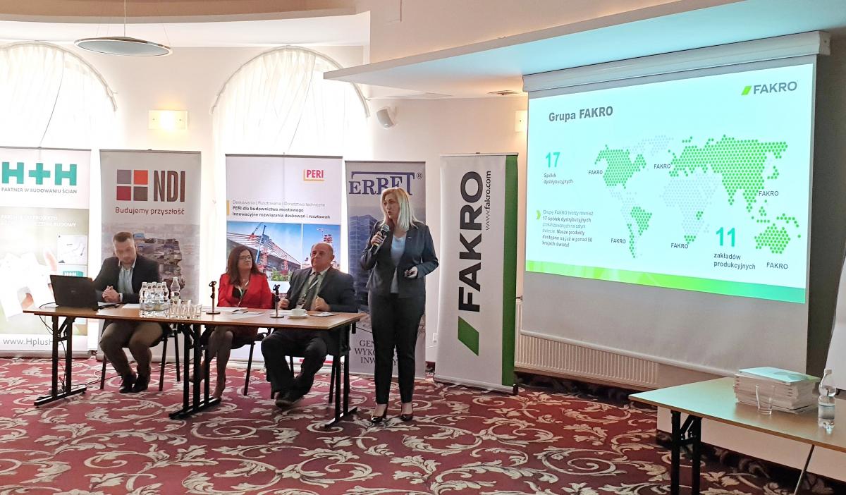 FAKRO sponsorem Konferencji Naukowej
