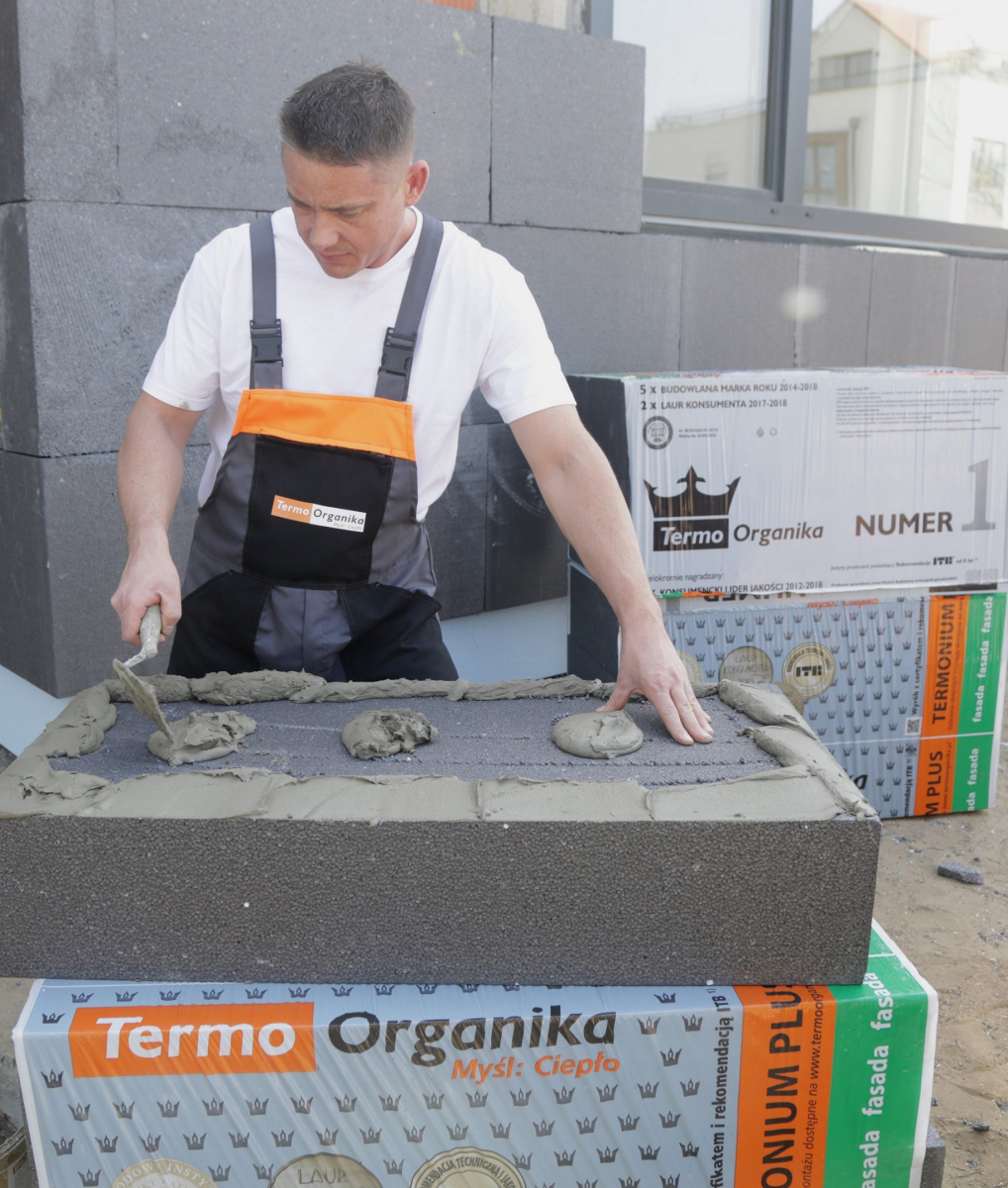 Styropian grafitowy TERMONIUM PLUS fasada, Termo Organika